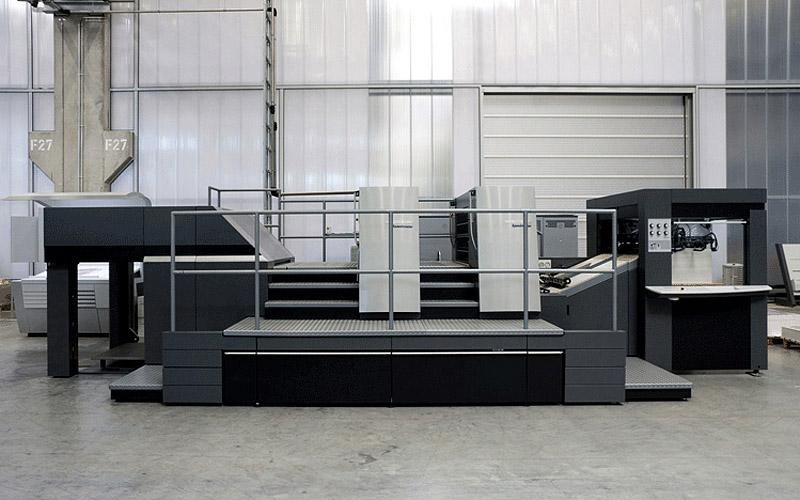 Ротационный высекальный пресс Speedmaster XL 105 DD для высечки вплавляемых этикеток