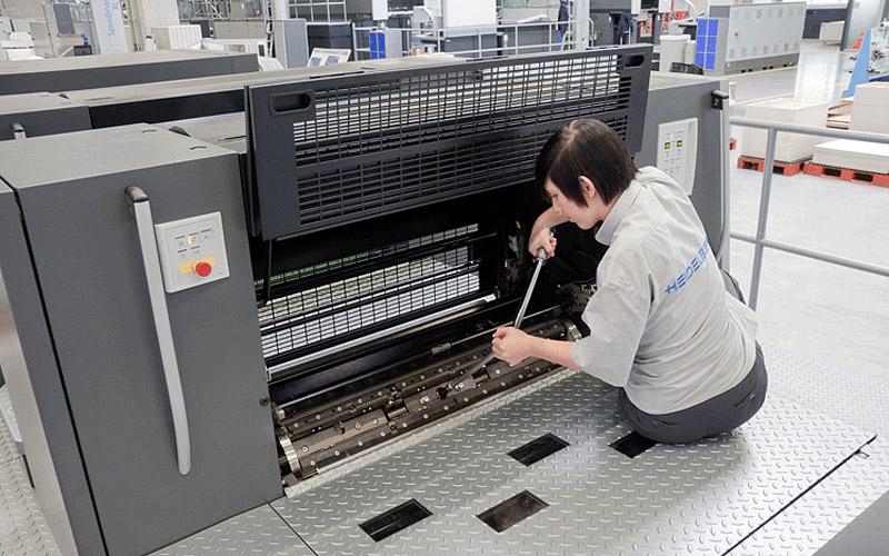 Проверенная технология XL: Приладка на Speedmaster XL 105 DD занимает около 15 минут
