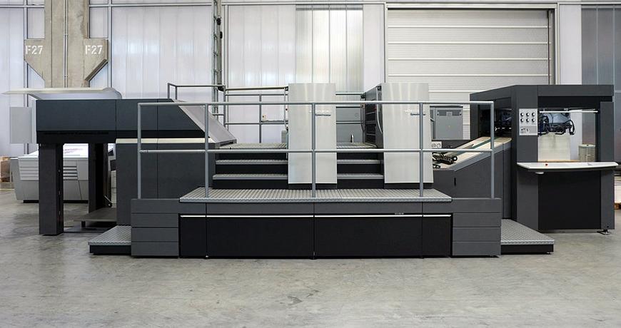 ротационный высекальный пресс Heidelberg Speedmaster XL 105 DD