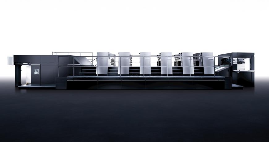новая печатная машина Heidelberg XL105