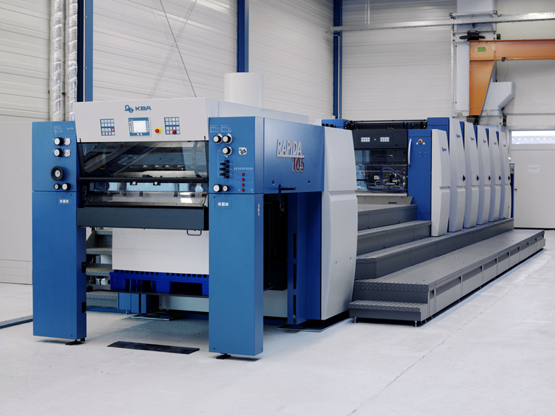 нова друкарська машина KBA Rapida 105