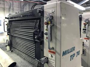 печатная секция Miller TP 74
