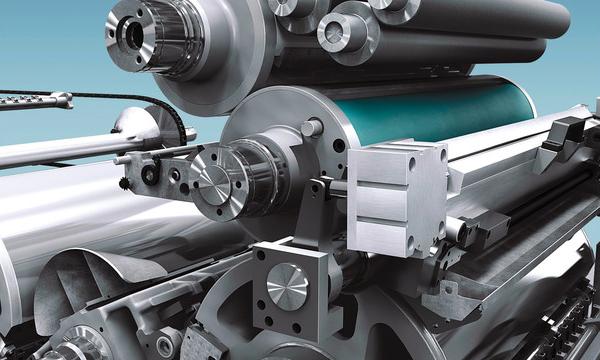 архитектура печатной секции ROLAND 200E