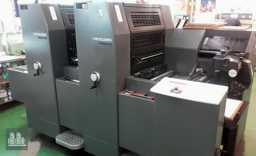 used offset press Heidelberg Printmaster PM 52-2 (age 2007)
