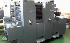 máquina offset de impressão Heidelberg PM 52-2 (ano 2007)