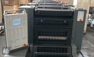 máquina offset de impressão Heidelberg PM 52-5 (ano 2009)