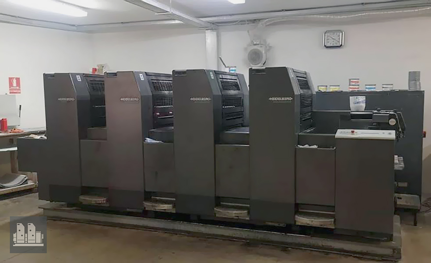 offset machine Heidelberg SM 52-4 P3 (1997)