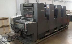 máquina offset de impressão Heidelberg SM 52-4 (ano 1997)