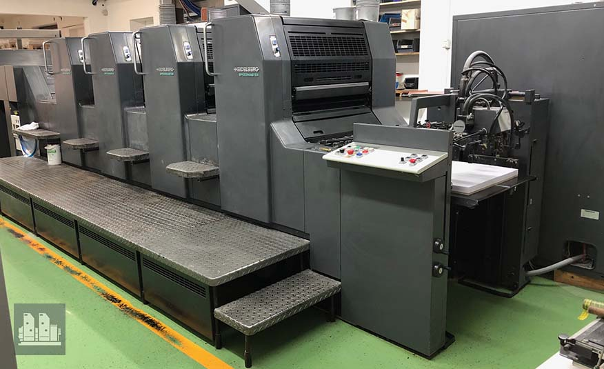 used offset press Heidelberg Speedmaster SM 74-4 (age 1997)