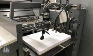 gebrauchte Druckmaschine Heidelberg SM 74-4 jahr 1997