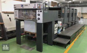 máquina offset de impressão Heidelberg SM 74-4 (ano 1997)