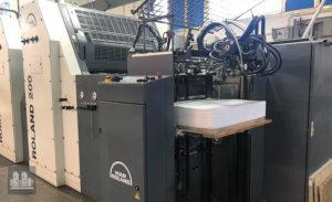 máquina offset de impressão MAN Roland 204 E (ano 2004)