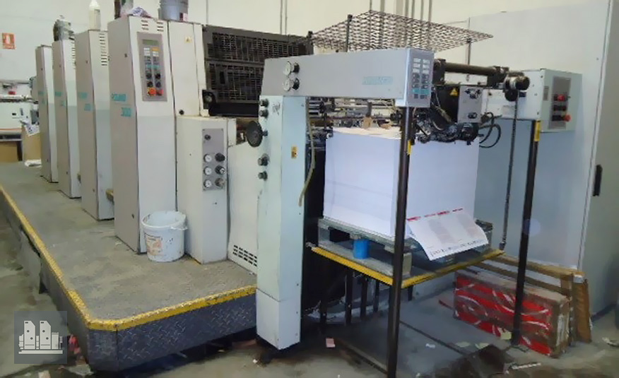 used offset machine MAN Roland 304 H0B P (age 1997)