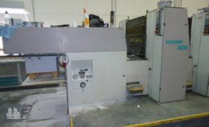 máquina offset de impressão MAN Roland R304 P (ano 1997)