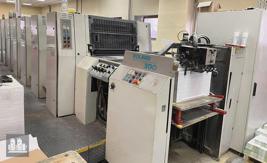máquina offset de impressão MAN Roland 308 PP (ano 2000)
