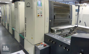 筱原 Roland 505 0B LV 型胶印机 2005