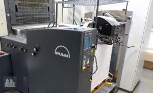 ऑफसेट प्रिंटिंग मशीन Roland 505 LV (age 2005)