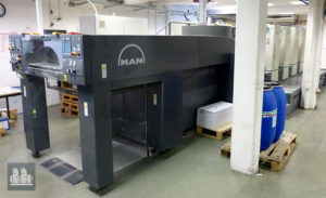ikinci basın Roland R505 LV (üretim yılı 2005)
