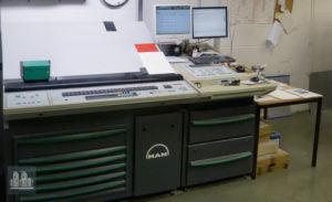 máquina offset de impressão MAN Roland R505 LV (ano 2005)