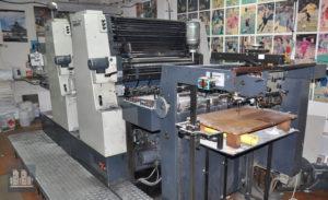 печатная машина Johannisberg Miller TP74-2c (1983 год)