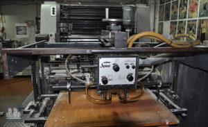 2 фарбова друкарська машина Miller TP 74/2c (1983 год)