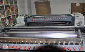 used offset press Miller TP 74-2 (age 1983)