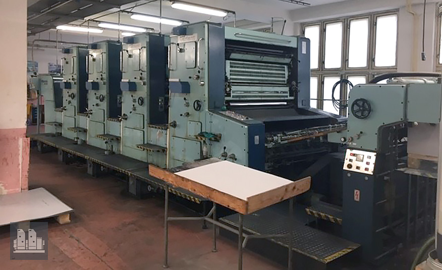 used offset press Planeta Super Variant P46-3 (age 1989)