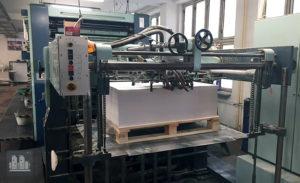 máquina de impresión Planeta P46-3 SV (áno 1989)