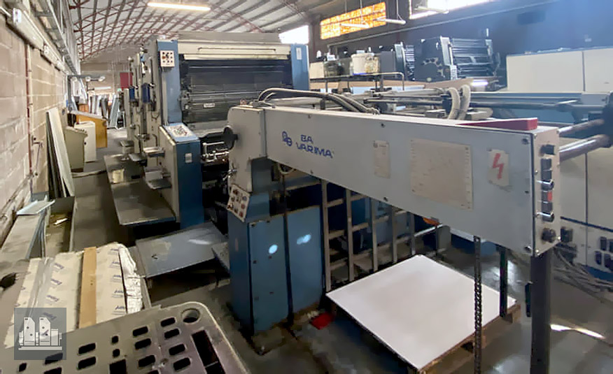 used offset press Planeta Varimat P28-3 (age 1982-2003)