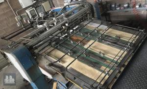ऑफसेट प्रिंटिंग मशीन Planeta Varimat P28-3 निर्माण का वर्ष 1982-2003