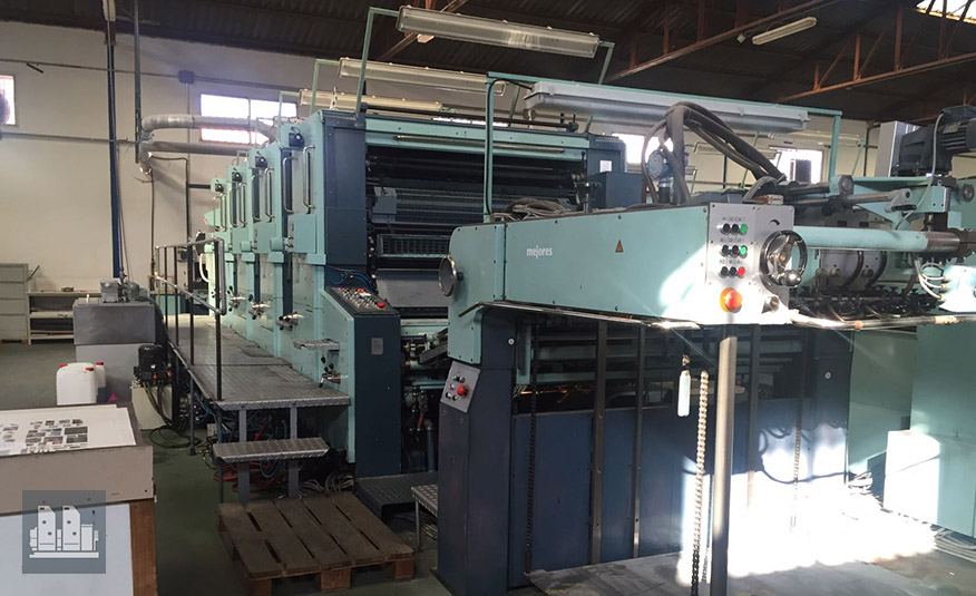 used offset press Planeta Varimat V47-2 (age 1991)