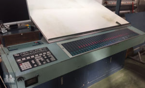 Planeta Varimat V47 آفسیٹ پرنٹنگ مشین 1991 کی رہائی