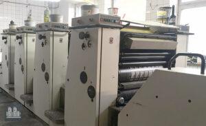 ऑफसेट प्रिंटिंग मशीन Adast Dominant 846 निर्माण का वर्ष 2000