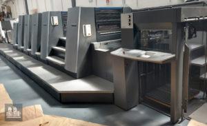 二手印刷機海德堡CD74-5P+LX(年齡2004)