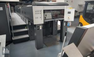 used printing machine Heidelberg Speedmaster CD 74-5P2+LX (C) (2004)
