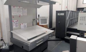 máquina de impresión usada Heidelberg Speedmaster CD 74-5P+LX (edad 2004)