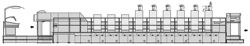принципиальная схема построения Heidelberg CD 74
