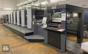 used offset press Heidelberg CX 102-5+LX (age 2012)