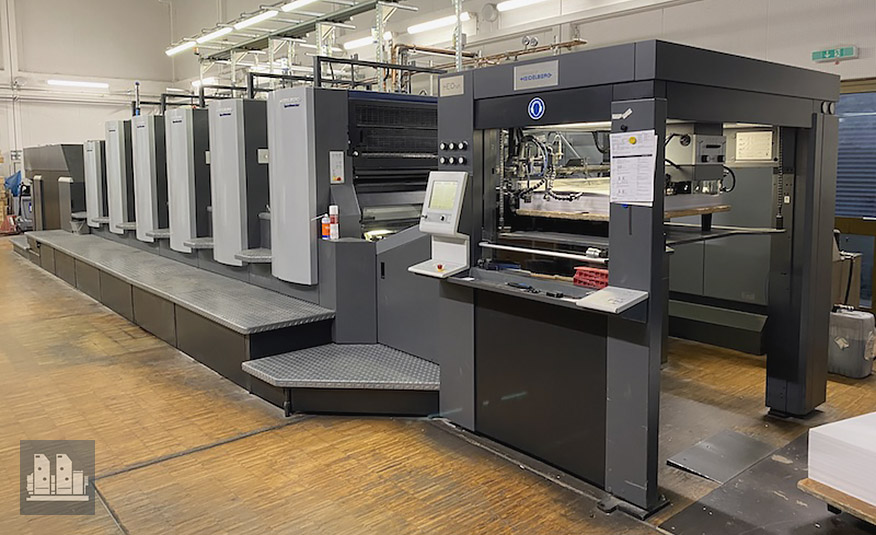 used offset press Heidelberg CX 102-5+LX (age 2012)
