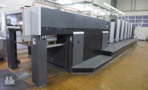 gebrauchte Druckmaschine Heidelberg CX 102-5+L jahr 2012