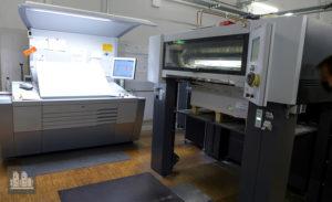 machine d'impression offset Heidelberg CX 102-5-L (année 2012)