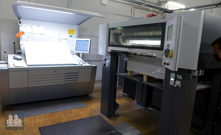 Heidelberg CX 102-5+LX (2012 год)