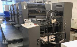 máquina de impressão Heidelberg PM 74-4 (age 2003)