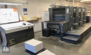 gebruikte grafische machine Heidelberger Printmaster 74-4 (2003)