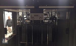máquina de impresión Heidelberg SM 102-4P-L (ano 2005)