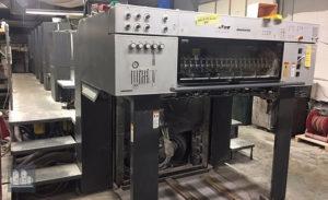 used printing machine Heidelberg Speedmaster SM 102-4P+L (2005)