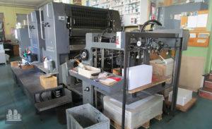 offset printing machine Heidelberg SM 102 ZP (1990)