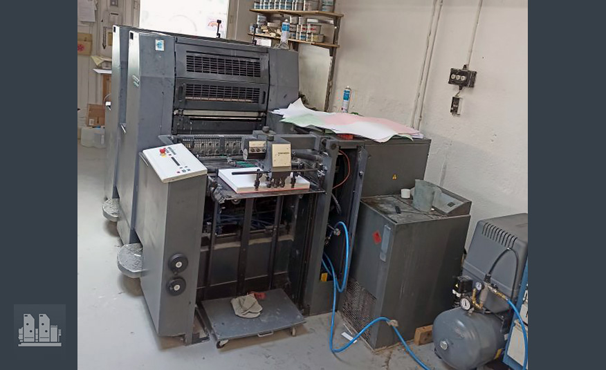 Heidelberg Speedmaster SM 52-2 (1996) for spare parts