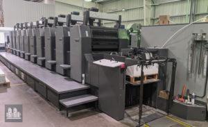 印刷機 Heidelberg Speedmaster SM 74-10P 製造年 (2005)