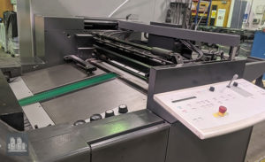 used offset press Heidelberg SM 74-10P6 (age 2005)